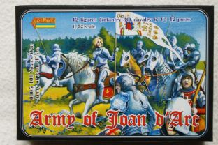Strelets 1/72 ST0005 Army of Joan of Arc (Medieval)